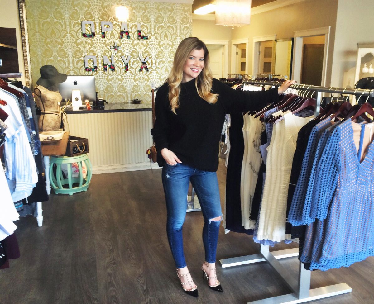 Getting Ready Report Beauty Interview with Alison Halleran Owner of Opal + Onyx - Top 5 Beauty Products Ole Henrikson, Hourglass, Drybar, Dermalogica, Good On Ya,