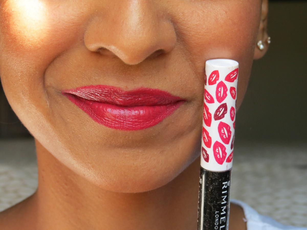 Rimmel London Provocalips Review - Long lasting lip stain with no colour transfer. Reviewed by aneekaward.wordpress.com