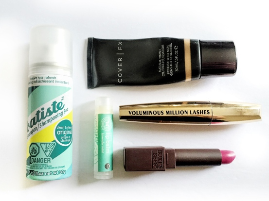 GETTING READY REPORT - HOLLY BOWMAN COVER FX, BATISTE, L'OREAL, BURTS BEES, HONEST COMPANY