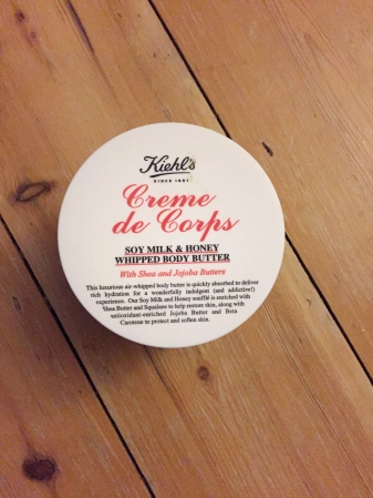 Getting Ready Report Kiehl's Creme de Corps Cream Sophie Southmayd