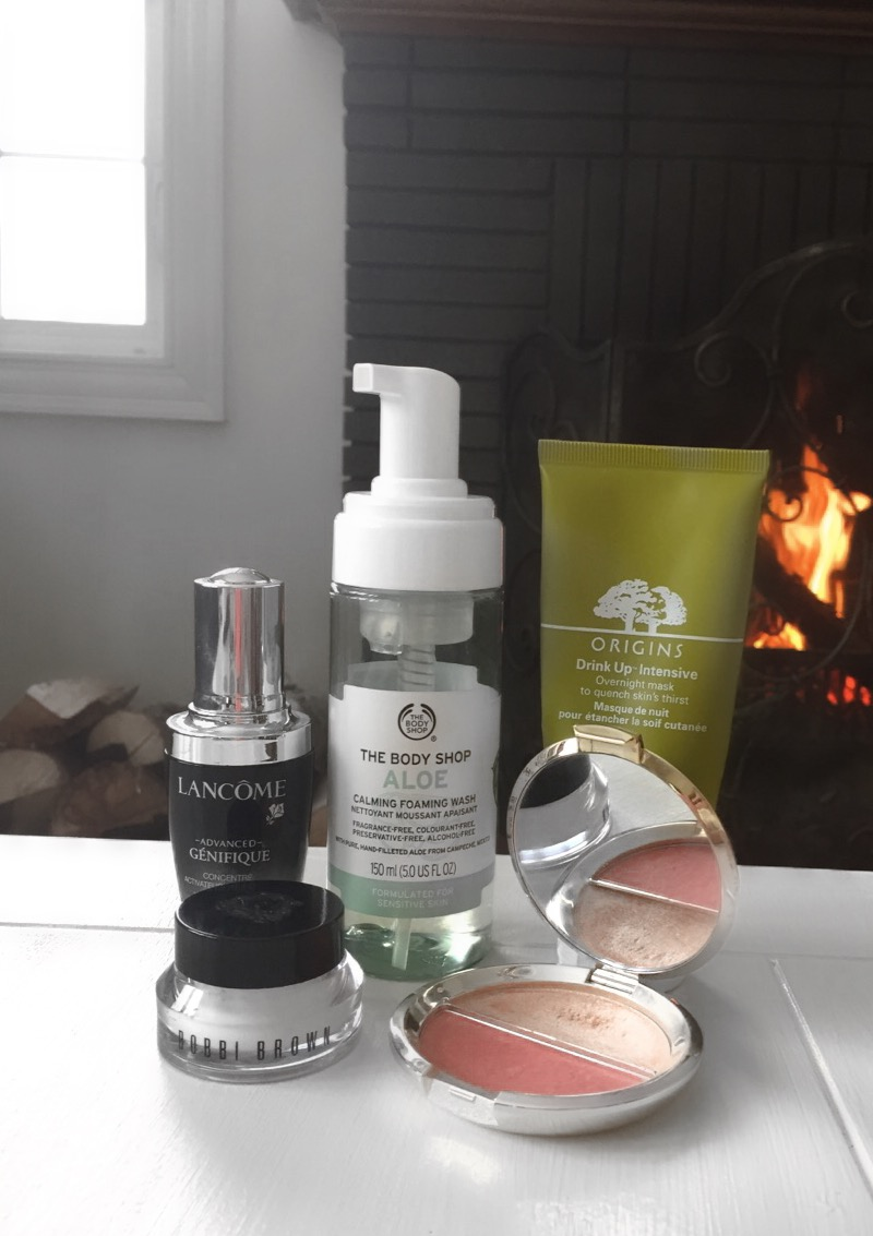GETTING READY REPORT COURTNEY CROCKER LANCOME BECCA THE BODY SHOP BOBBI BROWN ORIGINS